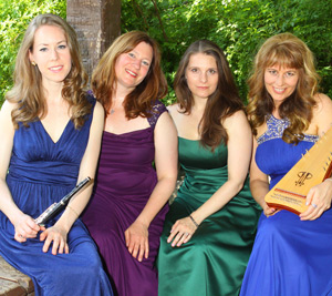 Four Celtic Voices playing at Lake County Concerts
