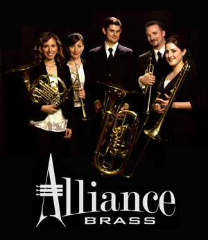 Alliance Brass Quintet plays at Lake Country Concerts